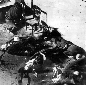St Valentine's Massacre, Chicago, Illinois