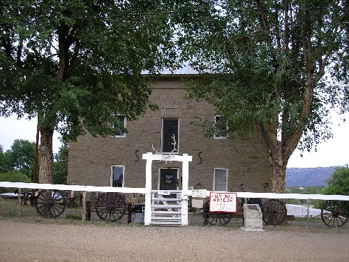 The Aztec Mill in Cimarron, New Mexico, 2006