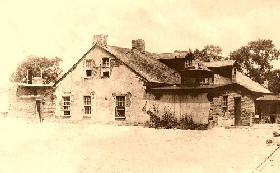 The Lucien Maxwell House in 1864