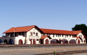 The old depot in Amarillo, Texas