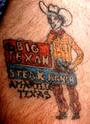 Big Texan Tattoo