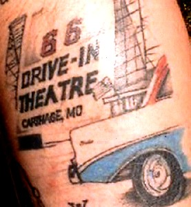Route 66 Drive-In Tattoo