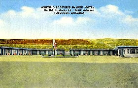 Whiting Brothers Motel in Holbrook, Arizona