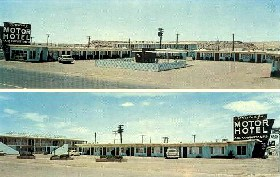Whiting Motor Hotel, Winslow, Arizona