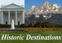 Historic Travel Destinations in the United States