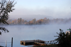 October Morning on the Lake of the Ozarks