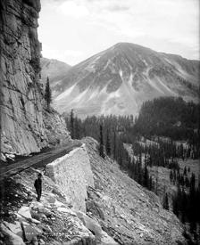 Palisades, Alpine Tunnel, Colorado, 1900