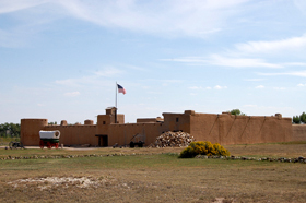Bent's Fort, Colorado on the Santa Fe Trail