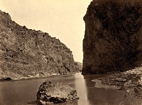 The Black Canyon in 1871, Gunnison, Colorado