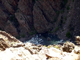 Black Canyon River, Gunnison, Colorado
