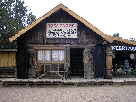 Tabor Store at Buckskin Joe, Colorado