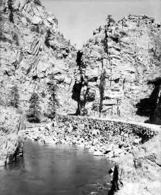 Cachela Poudre River-1920