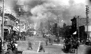 1896 Fire in Cripple Creek Colorado