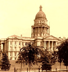 Colorado State Capitol in Denver, Colorado