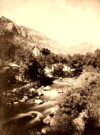 Estes Park, Colorado, 1909.