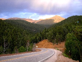 Road from Victor, Colorado