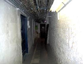 Hallway to morgue