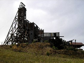 Independence Mine and Mill in Victor, Colorado