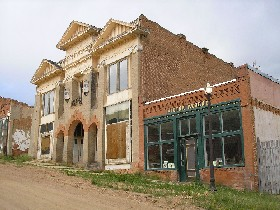 Masonic Temple in Victor, Colorado