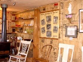 Baby Doe's Cabin Inside