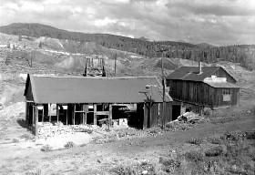 the Matchless Mine in 1953