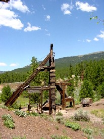 Matchless Mine Shaft