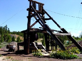 Matchless Mine Headframe