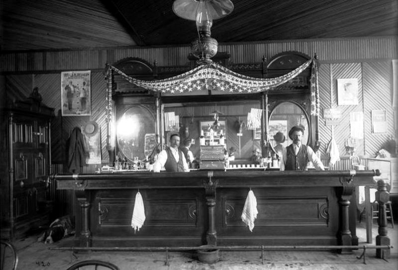 Old West Saloons Vintage Photographs Meeker Colorado Saloon