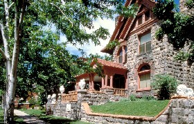 The Molly Brown House Museum in Denver, Colorado
