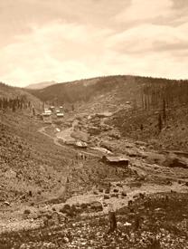 Oro City, Colorado around 1900.
