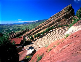Red Rocks Amphitheater, Denver, Colorado