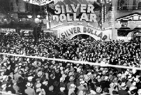 Opening of Silver Dollar Movie in 1932