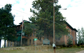 The St. Nicholas Hotel in Cripple Creek, Colorado