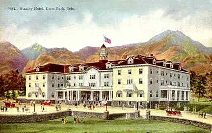 Stanley Hotel Postcard-1917