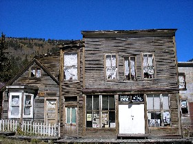 Stark home and store today, St. Elmo, Colorado