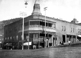 Victor Hotel in Victor, Colorado, 1894