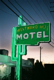 Westward Ho Motel in Albuquerque, New Mexico