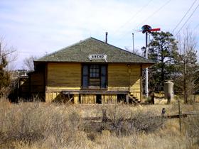 Ancho, New Mexico Depot