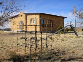 Ancho, New Mexico school