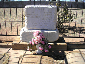 Billy the Kid's Grave at Fort Sumner, New Mexico
