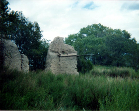 Blazer's Mill ruins in 1999