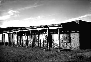 Kit Carson's home in Taos, New Mexico 1900.