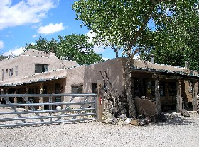 Case Grande Trading Post in Los Cerrillos, New Mexico