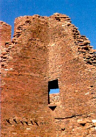 Ruins in Chaco Canyon