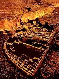 Chaco Canyon Ruins