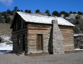 Grafton Cabin, Chloride, New Mexico