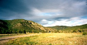Road to Cimarron Canyon