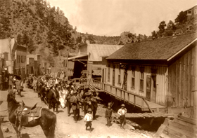 Mogollon, New Mexico Cinco de Mayo, 1914