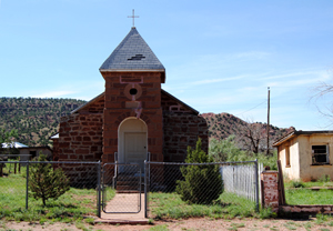 Catholic Church in Cuervo, New Mexico