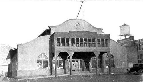 Amusement Hall and Gym, Dawson New Mexico